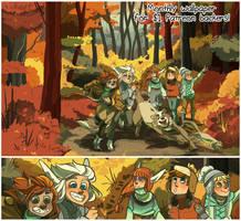 November Wallpaper by DruidTeeth