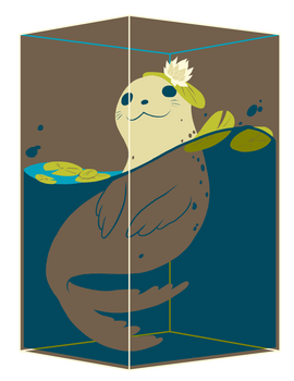 Seal Cubie (Brown)