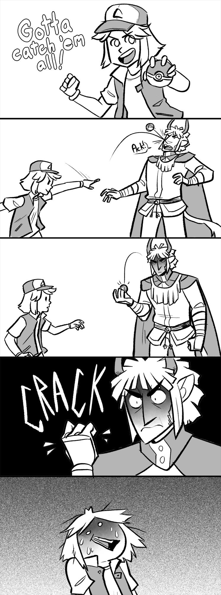 Catch 'Em All by DruidTeeth