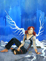 Guardian Angel by dhstein