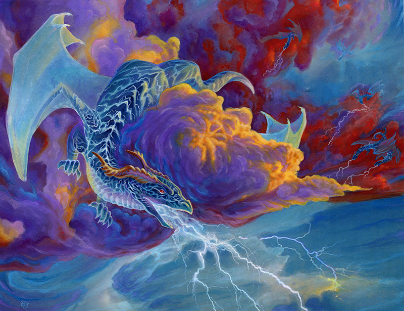 Lightning Fall by dhstein