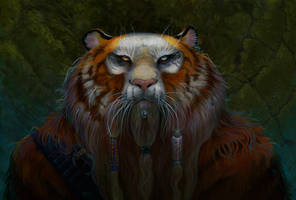 Dwarf Tiger by dhstein