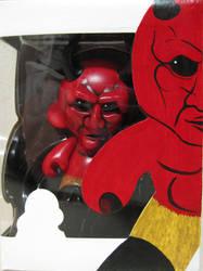 Devil munny in box