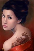 A Geisha's Glance by LindaLisa