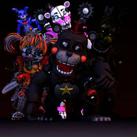 The Fnaf 6 Crew ((My Vision))