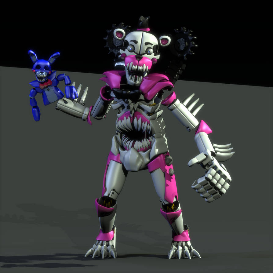 Deathrages Funtime Freddy ((My Model)) By ADrawingSkeleton