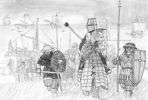 Birger Jarl leads the II Swedish Crusade, 1249 AD