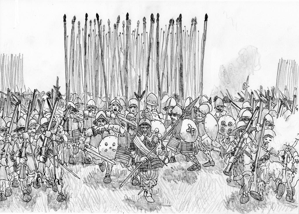 Relentless Advance, White Mountain, November 1620 by FritzVicari