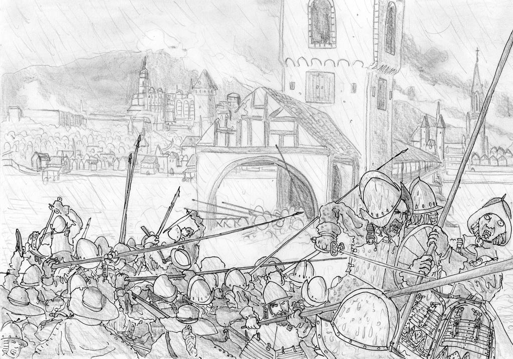 Sturm auf Heidelberg, Semptember 19, 1622 by FritzVicari