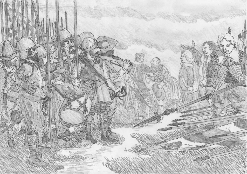 Las Lanzas (The Conquerors of Breda), June 5, 1625 by FritzVicari
