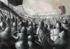 The Battle of Treyden (Turaida), 1211, Livonia by FritzVicari