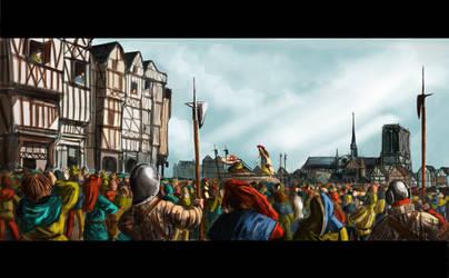 Place de Greve, Paris, 1482
