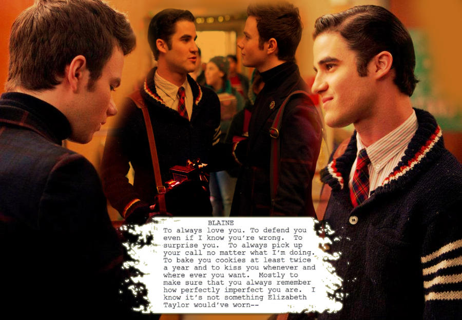 Klaine Box scene by Kurtfan