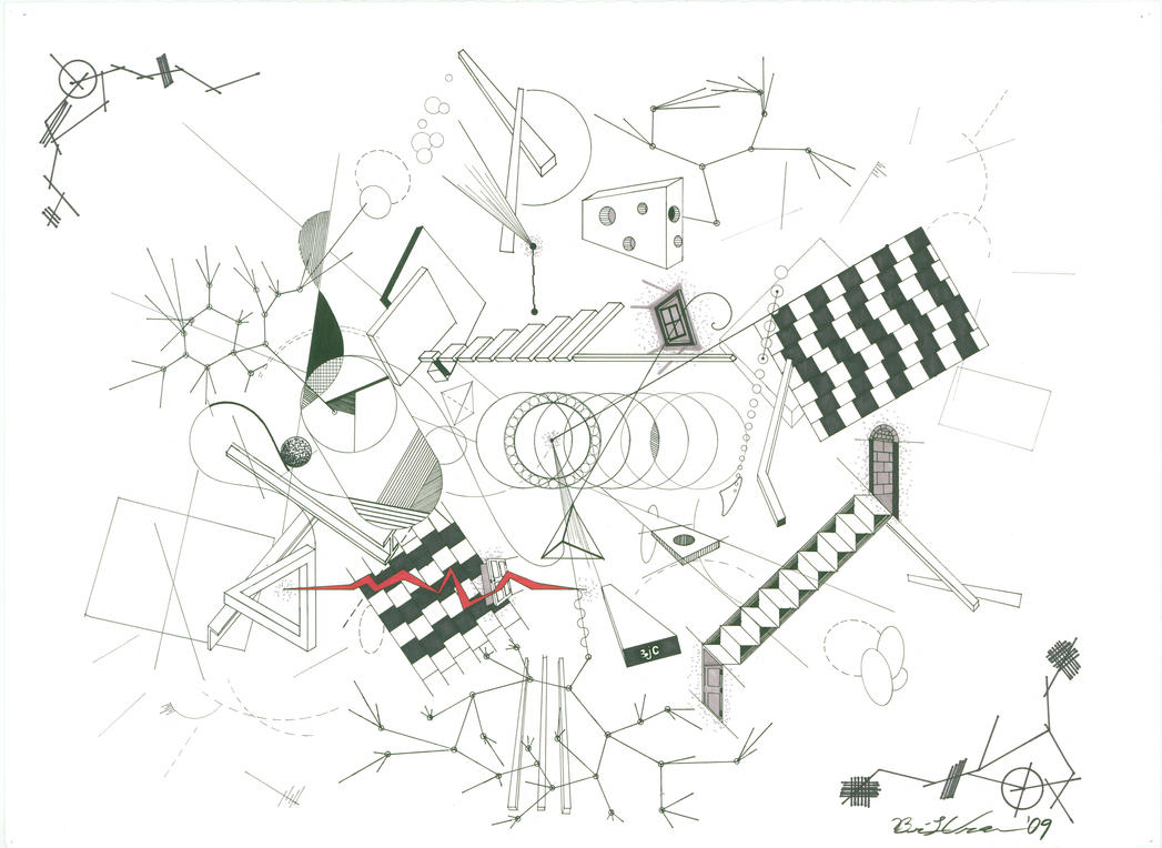 abstract line drawing by 50crowley on deviantart