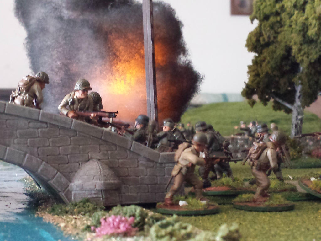 Americans Take the Bridge by Stormcallerr