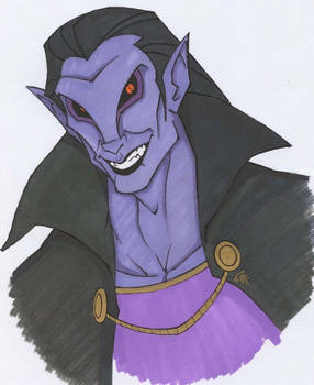 One Evil Dude - Colored