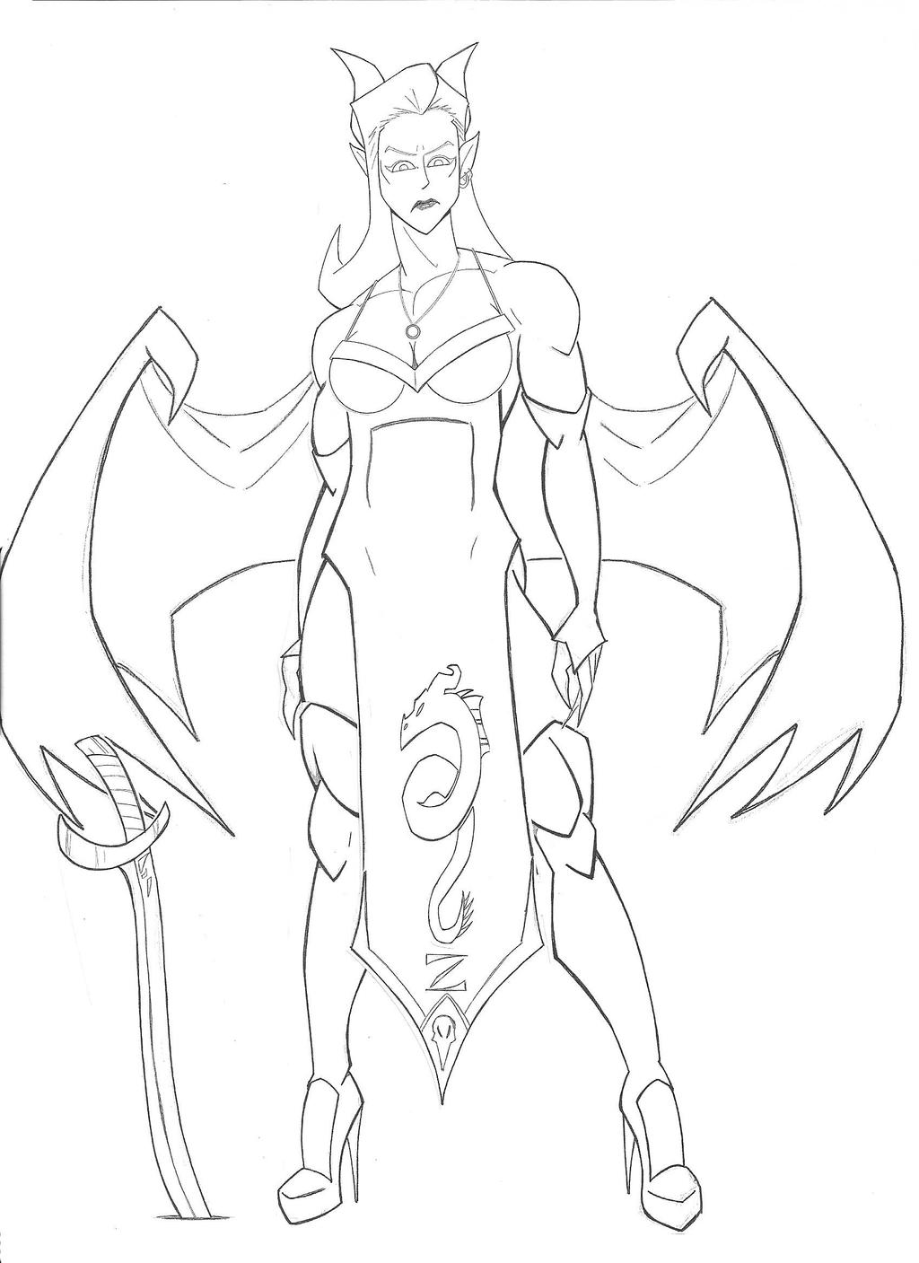 The Dragon's Dress