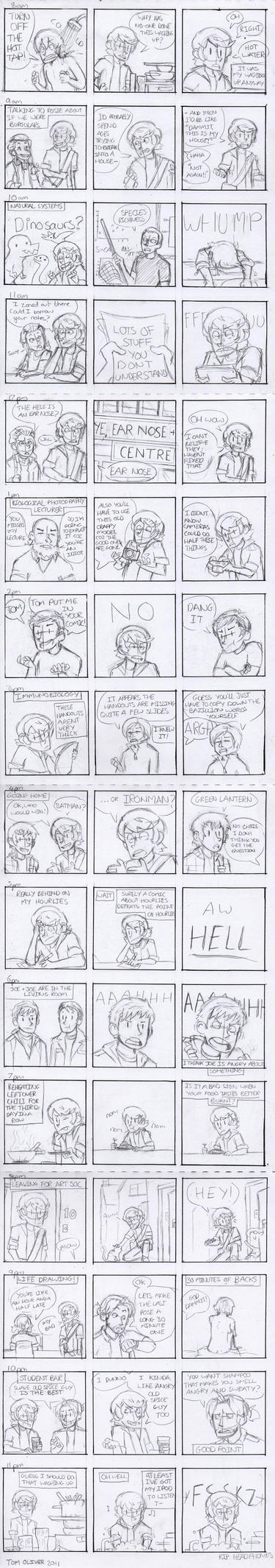 Hourly Comic Day 2011 by Inyuo