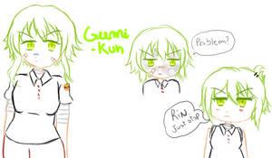Gumi- Vocaloid Zombie AU