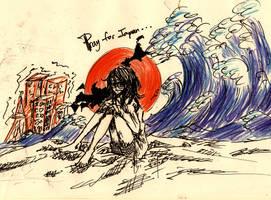 .: PRAY FOR JAPAN :. by Kaionalpaca