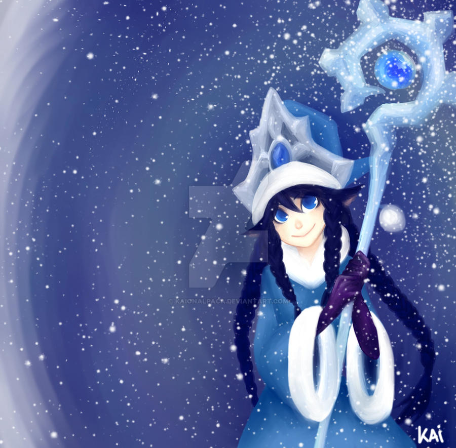 Winter Wonder Lulu by Kaionalpaca