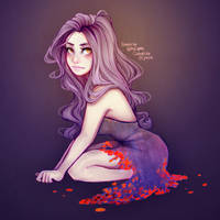 Red tiny petals by itslopez