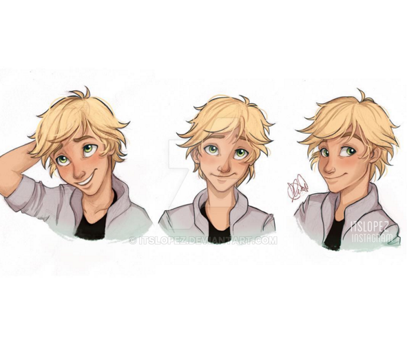 Adrien Agreste by itslopez