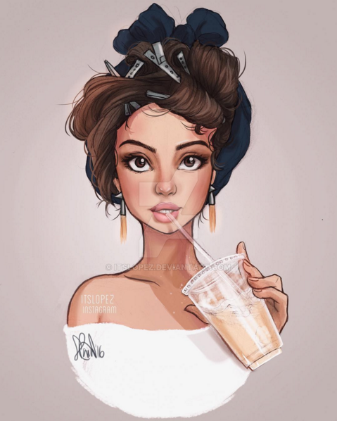 Iced White Chocolate Mocha by itslopez