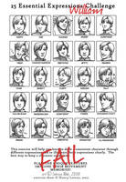 25 Expressions - William by Pretty-Angel