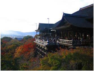Kiyomizu-dera by Pretty-Angel