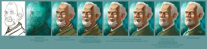Damian Portrait Walkthrough by Pretty-Angel