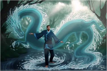 Water Dragon by Pretty-Angel