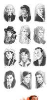 Sketchdump: Doctor Who Edition