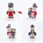 Llama llama courier by lyrese
