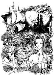 Mermaid 2 by Fengjing