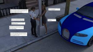 Arrested for parking violation