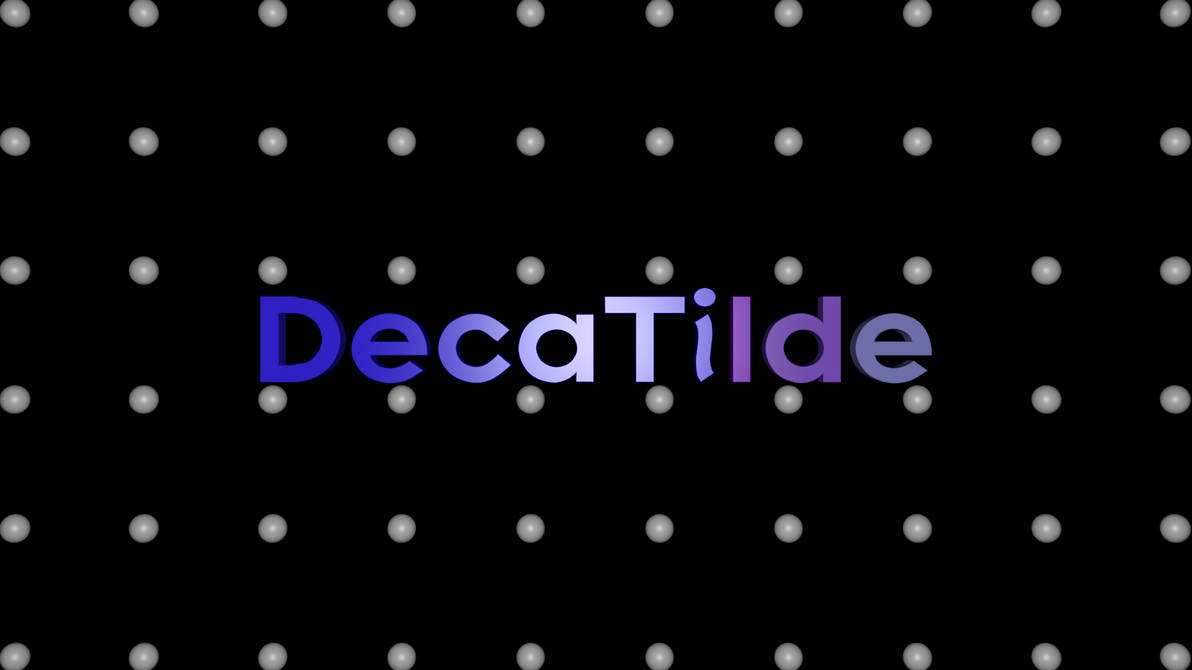 DecaTilde logo