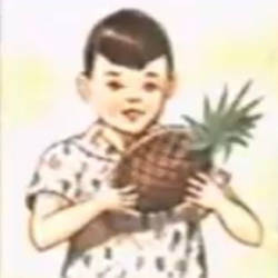 Boy Holding a Pineapple (need help identifying)