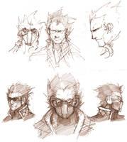 General Gault- Sketch Work by silverlimit