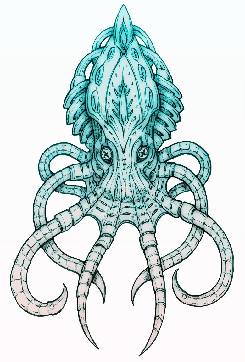Cephalopuss III by silverlimit