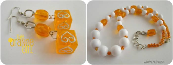 The Orange Girl's accessories