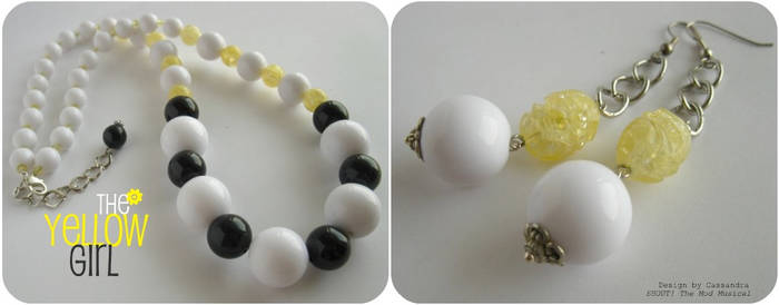 The Yellow Girl's accessories