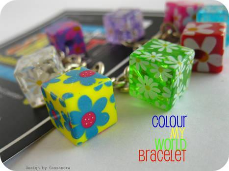 Colour My World bracelet