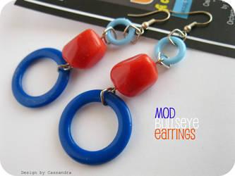 Mod Bullseye earrings
