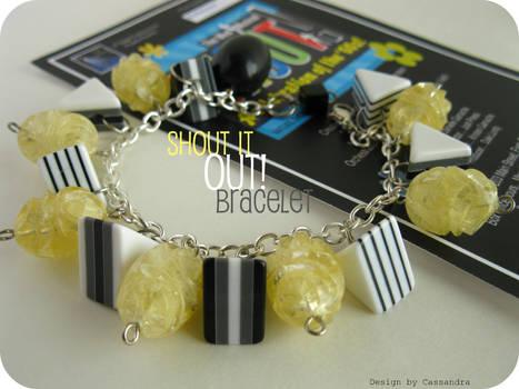 Shout it Out bracelet
