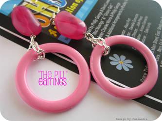 'The Pill' earrings