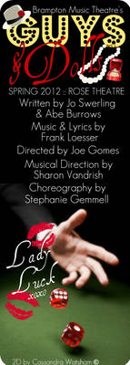 BMT's Guys and Dolls, poster 1