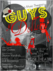BMT's Guys and Dolls, poster 2