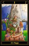 I The Magician-Celtic Heart Tarot by aaronubis01