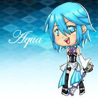 KHbbs: chibi Aqua by xflorinax